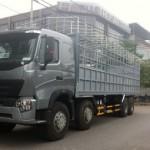 Những lưu ý khi chở hàng hóa bằng xe tải Howo