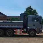 Hình ảnh thực tế xe tải Howo tại công ty Tân Việt