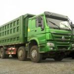 Công trình nào nên sử dụng xe tải ben Howo 4 chân?