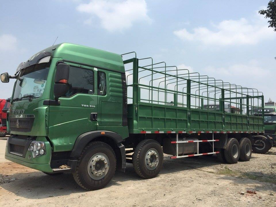 xe tải thùng howo 5 chân 1