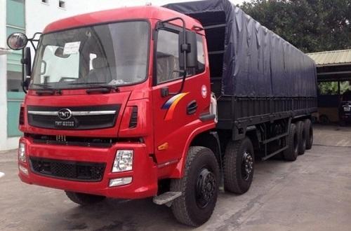 xe tải thùng howo 5 chân 2