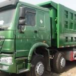 Tìm hiểu thêm về dòng xe tải ben Howo 4 chân