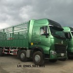 Địa chỉ phân phối xe tải thùng Howo 4 chân uy tín tại Hà Nội?
