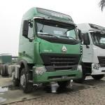 Xe tải thùng Howo 4 chân trở được nhiều hàng không?